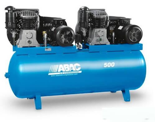 Поршневой компрессор маcляный ABAC B7000/500 T7,5 с ременным приводом