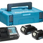 Комплект аккумулятор 12.0 В BL1016 2 шт. + зарядное устройство DC10WD в кейсе (Набор BL1016 12.0V 1,5 Ah 2 шт. + DC10WD)