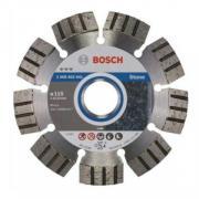 Алмазный круг 115х22,23 мм по камню BOSCH