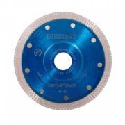 Алмазный круг 125х22 мм по керамике сплошн.ультратонкий Turbo HILBERG