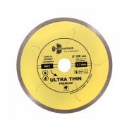Алмазный круг 180х25,4мм по керамике сплошн.ультратонкий Hot Press (1.7мм) (TRIO-DIAMOND) [UTW504]