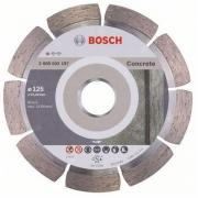 Алмазный круг 125х22 мм по бетону сегмент. STANDARD FOR CONCRETE BOSCH (сухая резка)