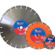Алмазный круг 400х25.4 мм по асфальту сегмент. ПРОФЕССИОНАЛ