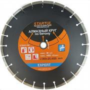 Алмазный круг 400х20/25.4 мм по бетону сегмент. EXPERT STARTUL (мокрая резка) [ST5053-400]