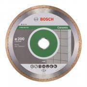 Алмазный круг 200х25.4 мм по керамике сплошн. STANDARD FOR CERAMIC BOSCH
