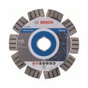 Алмазный круг 125х22 мм по камню сегмент. Turbo BEST FOR STONE BOSCH