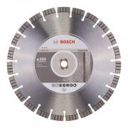 Алмазный круг 350х20/25.4 мм по бетону сегмент. Turbo BEST FOR CONCRETE BOSCH