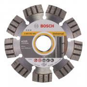 Алмазный круг 115х22 мм универс. сегмент. Turbo BEST FOR UNIVERSAL BOSCH