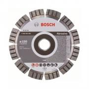 Алмазный круг 150х22 мм по абразив. матер. сегмент. Turbo BEST FOR ABRASIVE BOSCH (сухая резка) [2608602681]