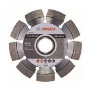 Алмазный круг 115х22 мм по абразив. матер. сегмент. EXPERT FOR ABRASIVE BOSCH (сухая резка) [2608602606]