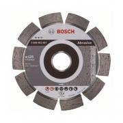 Алмазный круг 125х22 мм по абразив. матер. сегмент. EXPERT FOR ABRASIVE BOSCH