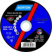 Круг отрезной 180х1.6x22.2 мм для металла Vulcan NORTON
