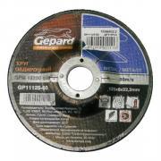 Круг обдирочный 180х6x22.2 мм для металла GEPARD [GP11180-60]