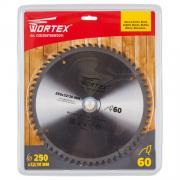 Диск пильный 250х32/30 мм 60 зуб. по дереву WORTEX (твердоспл. зуб) [CSD250T60W2011]