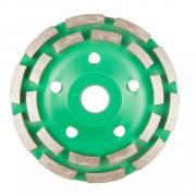 Алмазная чашка 125мм бетон двурядная ВОЛАТ [89090-125]