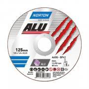 Круг отрезной 125х1.0x22.2 мм для алюминия ALU NORTON