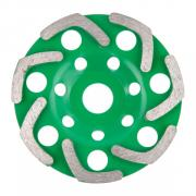 Алмазная чашка 125мм бетон однорядная ВОЛАТ (бумеранг) [89095-125]