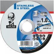 Круг отрезной 125х2.5x22.2 мм для металла ATLAS NORTON (A30S-T41 металл/нержавейка, высокая твердость, выше, чем у 125*2.5 Vulcan) [66252828877]