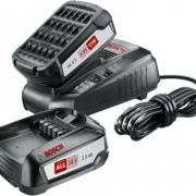 Комплект аккумулятор 18.0 В PBA18 V 2 шт. + зарядное устройство AL1830CV (Набор PBA 18 V 2,5Ah 2 шт. + AL1830 CV)