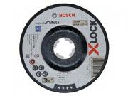 Круг отрезной 125х6.0x22.2 мм для металла X-LOCK Expert for Metal BOSCH