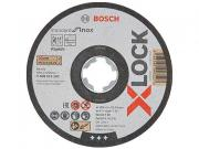 Круг отрезной 125х1.0x22.2 мм для нерж. стали X-LOCK Standard for Inox BOSCH