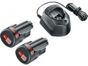 Комплект аккумулятор 12.0 В PBA12 V 2 шт. + зарядное устройство GAL1210 (Набор PBA 12 V 1,5Ah 2 шт. + GAL1210)