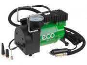 Компрессор автомобильный ECO AE-013-4 (12 В, 130 Вт, 35 л/мин, 10 бар (манометр 7 бар), сумка)