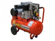 Компрессор HDC HD-A051 (396 л/мин, 10 атм, ременной, масляный, ресив. 50 л, 220 В, 2.20 кВт)