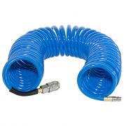 Шланг спиральный с фитингами рапид, полиуретан, 15бар, 8х12мм, 10м