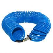 Шланг спиральный полиуретановый с фитингами, 8х12мм, 15м, FUBAG 170306