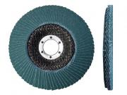 Круг лепестковый 125х22мм ZK40 ST плоск. КЛТ1 (Луга)