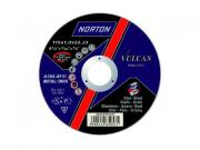 Круг обдирочный 125х6.4x22.2 мм для металла Vulcan NORTON