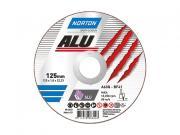 Круг отрезной 125х1.6x22.2 мм для алюминия ALU NORTON