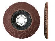 Круг лепестковый 180х22мм А100 плоск. КЛТ1 (Луга)