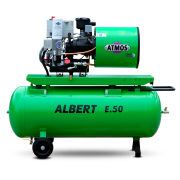 Компрессор винтовой ATMOS ALBERT E80 Vario-R - 6 бар