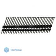 Реечные гвозди 21 градус 2.8x70 мм ершеные // 4200шт / P