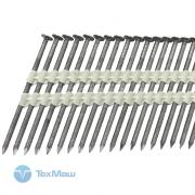 Реечные гвозди 21 градус 2.8x60 мм ершенные // 6000шт / М