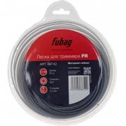 Триммерная леска Fubag FR сечение круглое (60 м x 2,4 мм) [38742]