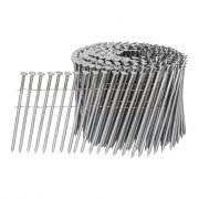 Барабанные гвозди в катушках 3,1х88 мм ершеные оцинкованные, CNW 31/88 RI CNK
