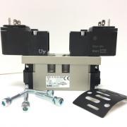 5/2-Пневмораспределитель ISO I/ CNOMO, 24VDC (SMC) [EVS7-6-FG-S-3CVO]