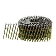 Барабанные гвозди в катушках 3,1х70 мм винтовые, CNW 31/70 SCH