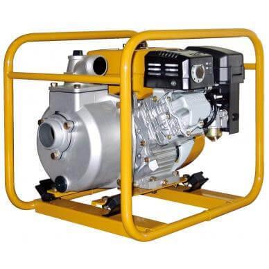 Мотопомпа SE-50X, бензиновая помпа для чистой воды
