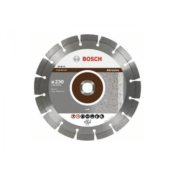 Алмазный круг 115х22 мм по абразив. матер. сегмент. ABRASIVE BOSCH
