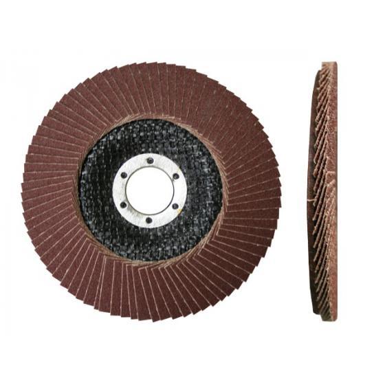Круг лепестковый 125х22мм А36 плоск. КЛТ1 (Луга)