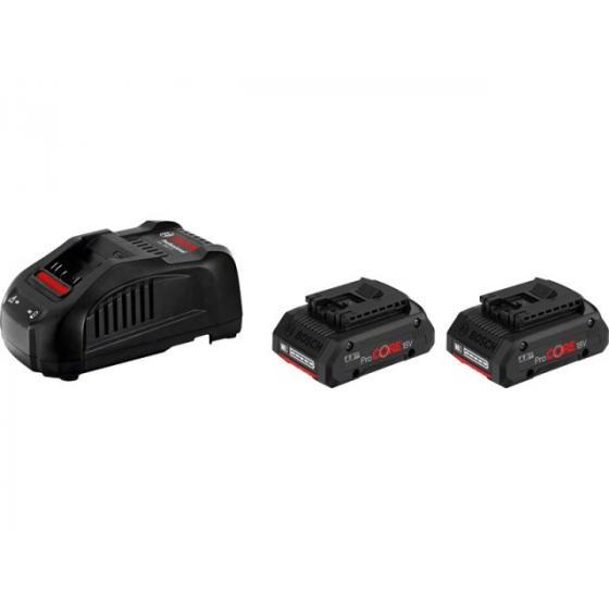 Комплект аккумулятор 18.0 В ProCORE18 V 2 шт. + зарядное устройство GAL1880CV (Набор ProCORE18 V 4,0Ah 2 шт. + GAL1880 CV)