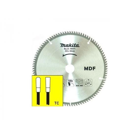 Диск пильный 255х30 мм 100 зуб. по дереву MDF MAKITA