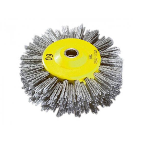 Щетка абразивная полимерная 140х30мм P60 для браширования (старения древесины) (SIA) [7611123033436]
