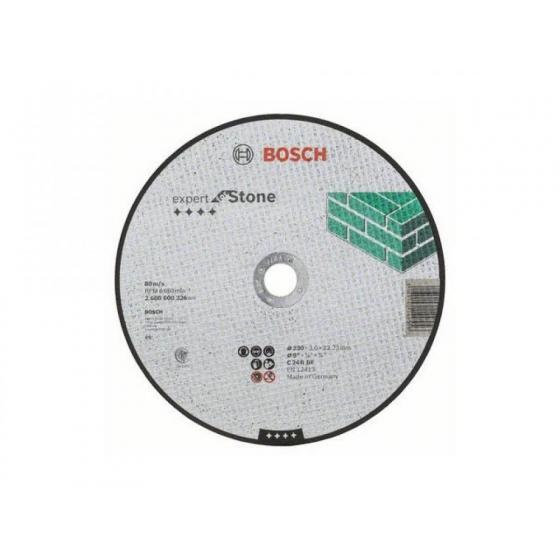 Круг отрезной 230х3.0x22.2 мм для камня Expert BOSCH [2608600326]