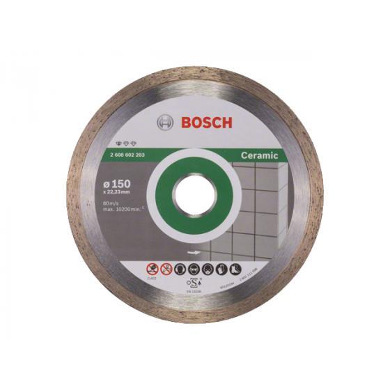 Алмазный круг 150х22 мм по керамике сплошн. STANDARD FOR CERAMIC BOSCH