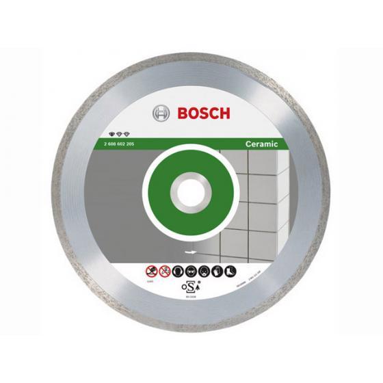 Алмазный круг 115х22 мм по керамике сплошн. STANDARD FOR CERAMIC BOSCH